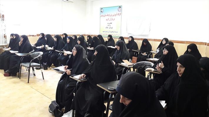بازدید حجت الاسلام کبیریان از مدرسه علمیه فاطمیه تهران