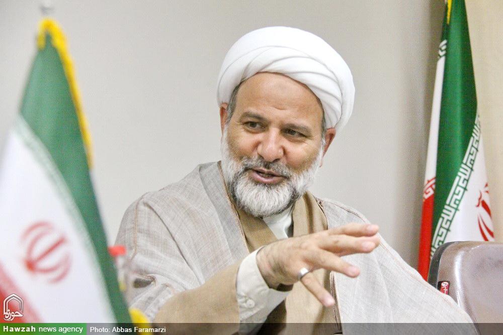 حجت الاسلام والمسلمین منصور فرجی- مدیر حوزه علمیه کاشان