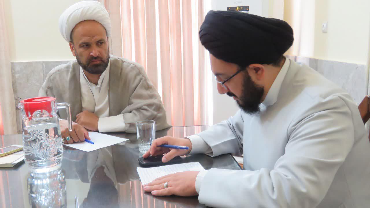 جلسه آموزش حوزه علمیه یزد