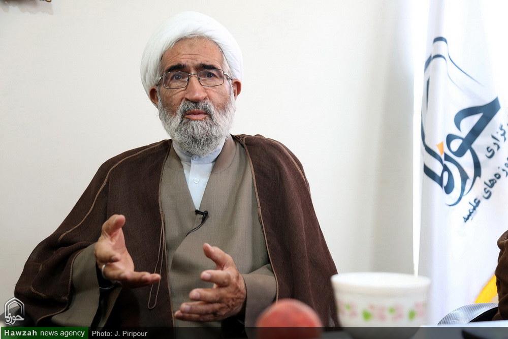 بازدید حجت الاسلام والمسلمین آشتیانی معاون جامعه مدرسین حوزه علمیه قم از رسانه رسمی حوزه