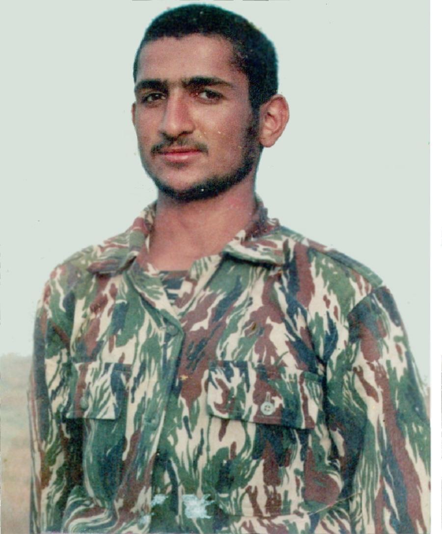 طلبه شهید محمد محسنی آستانی