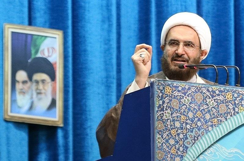 حاج علی اکبری نمازجمعه