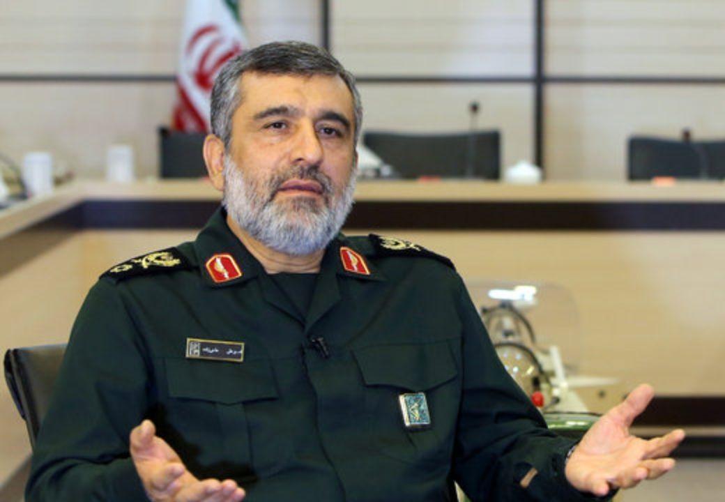 سردار امیرعلی حاجی زاده، فرمانده نیروی هوافضای سپاه