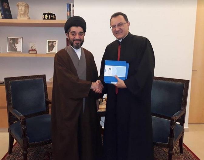 تاکید عضو موسسه آیت الله حکیم در بیروت و سفیر واتیکان بر گفتگوی میان ادیان