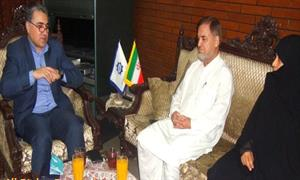 مدیرحوزه علمیه جامعه الزّهرا (س) با مسئول خانه فرهنگ جمهوری اسلامی در کراچی دیدار کرد