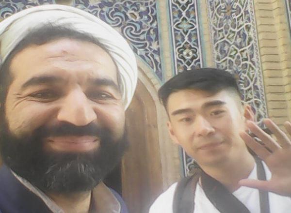 حجت الاسلام مظاهری-مبلغ به زبان چینی