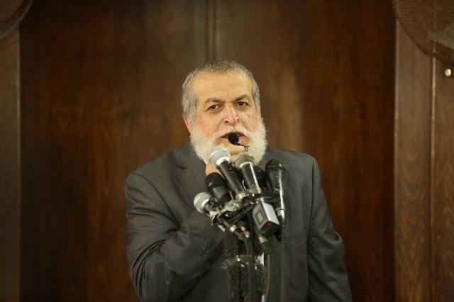 شیخ نافذ عزام عضو دفتر سیاسی جنبش جهاد اسلامی فلسطین