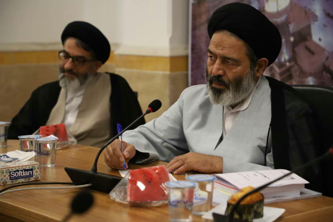 کارشناسان و متخصصان حوزوی فعال در حوزه حج و زیارت با حجت الاسلام والمسلمین نواب