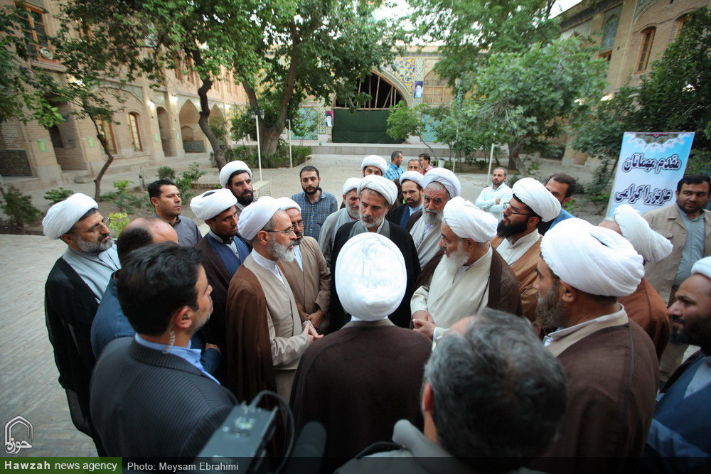 بازدید مدیر حوزههای علمیه  از مدارس علمیه سردارین و صالحیه قزوین
