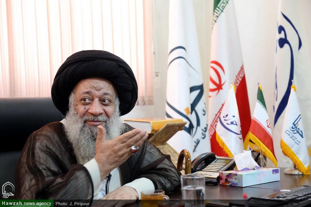 بازدید آیت الله موسوی جزایری از رسانه رسمی حوزه