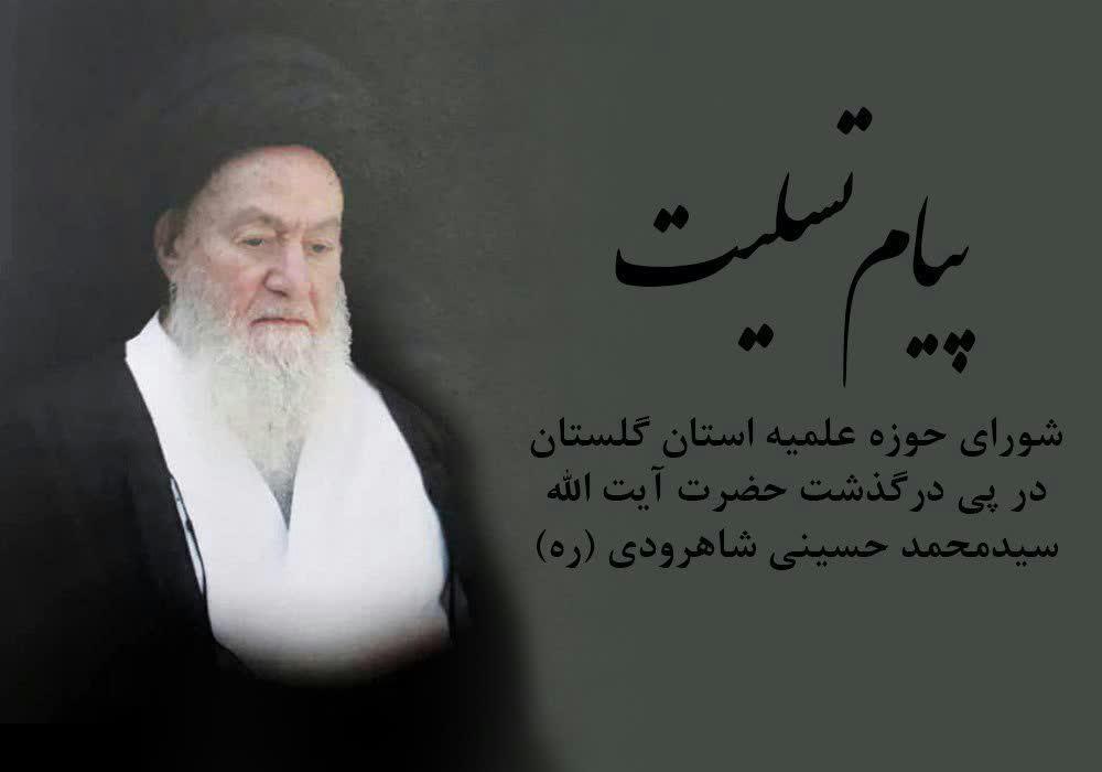 حضرت آیت الله سیدمحمد حسینی شاهرودی (ره)