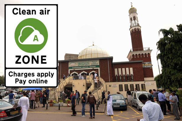 ۳۰ مسجد و موسسه دینی در انگلیس خواستار مصونیت از طرح جریمه هوای پاک شدند