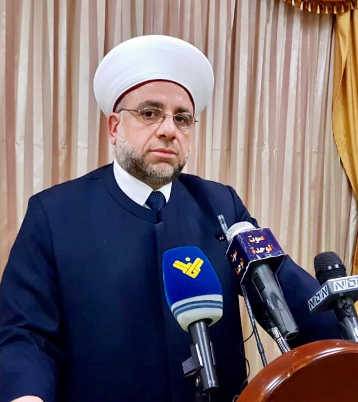شیخ ماهر عبد الرزاق روحانی اهل سنت لبنان