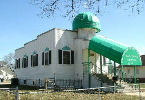 عکس آرشیوی از مسجدی در آمریکا