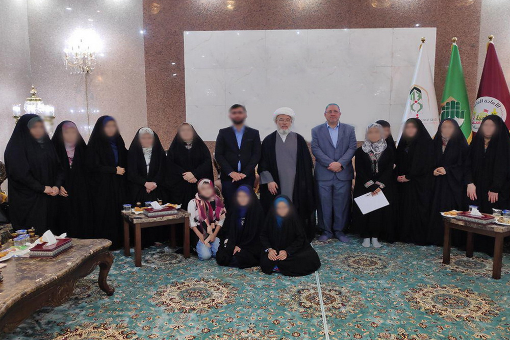 زنان ترکمانی نجات یافته از دست داعش