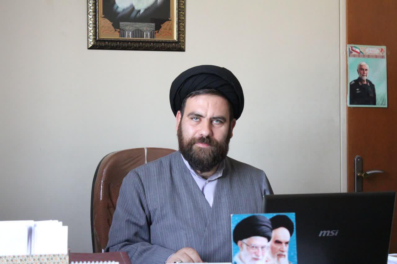حجت الاسلام سید محمد رضا ملیحی معاون تهذیب حوزه علمیه همدان