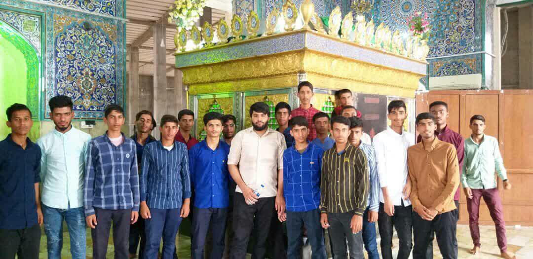 طلبه های جاسک به اردو مشهد اعزام شدند