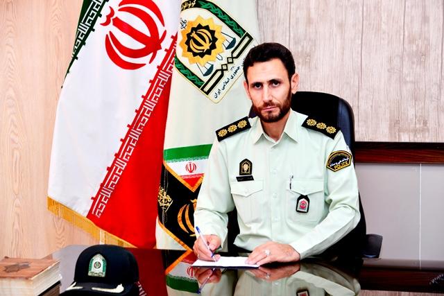 سرهنگ مهرداد حاجی زاده، معاون اجتماعی فرماندهی انتظامی استان قم