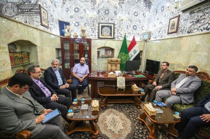 استاندار تهران با تولیت آستان مقدس علوی دیدار و گفتگو کرد