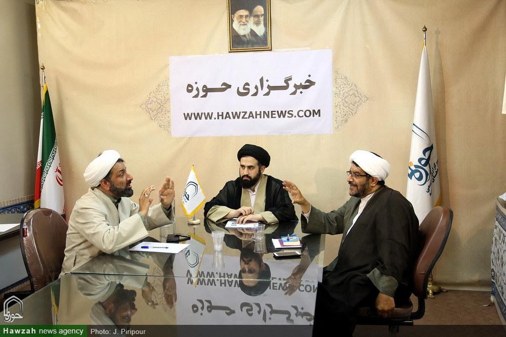 مصاحبه صریح و بی پرده -حجت الاسلام رهدار-حجت الاسلام هاجری