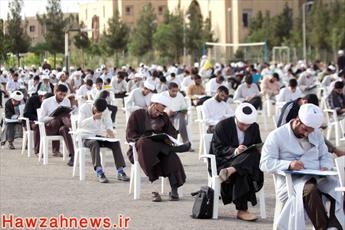 600 طلبه در آزمون سطح سه سفیران هدایت به رقابت پرداختند