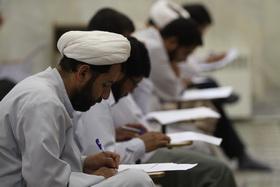هفتمین آزمون ورودی معارف مهدویت در مشهد برگزار شد