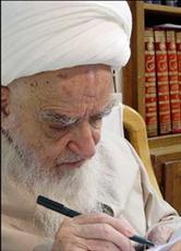 تسلیت آیت الله العظمی صافی  به مناسبت ارتحال آیت الله مرتضی تهرانی