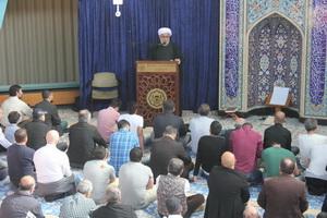 نماز جمعه هامبورگ با حضور غیر مسلمانان آلمانی+ عکس