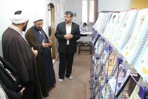 بازدید رئیس دفتر تبلیغات اسلامی از سامانه خبری حوزه