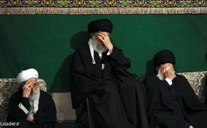 برگزاری عزاداری شب تاسوعا با حضور رهبر معظم انقلاب
