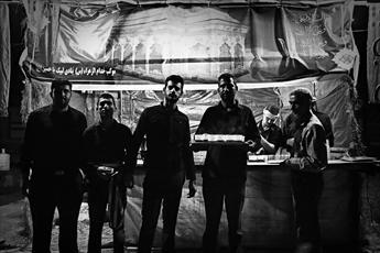 تصاویر/حال و هوای اهواز در شب تاسوعا