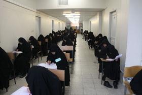 رقابت بانوان طبله حافظ قرآن در آزمون سالانه