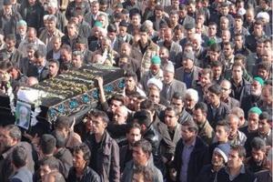 پیکر حجت الاسلام والمسلمین سعادت حسن آبادی در دل خاک آرام گرفت