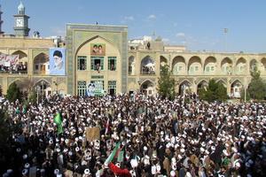 طلاب و روحانیون قم تجمع میکنند