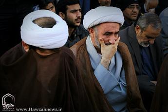 تصاویر/ تشییع پیکر سردار شهید حمید تقوی در اهواز