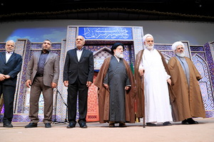 اجلاس بیست وسوم نماز بکار خود پایان داد+عکس