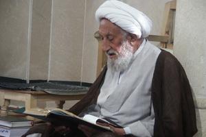 فیلم   برشی از آخرین جلسه درس اخلاق مرحوم آیت الله انصاری شیرازی