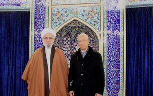 حضور پروفسور سمیعی در مرکز اسلامی هامبورگ + تصاویر