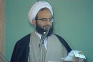 فیلم/سخنرانی شهید آیتالله محلاتی در محضر امام(ره)