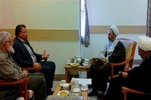 دیدار نماینده رئیس مجلس لبنان با رئیس جامعة المصطفی