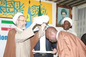 رئیس جامعة المصطفی به کنگو سفر کرد + عکس