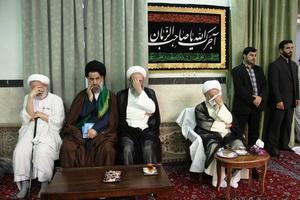 مراسم  شهادت امام علی النقی(ع)در بیوت مراجع تقلید