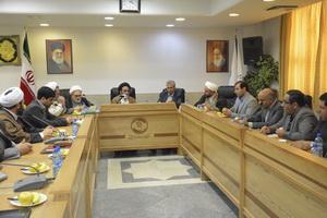 نشست وزیر تعاون، کار و رفاه اجتماعی با رئیس مرکز خدمات