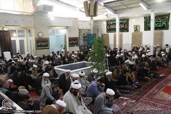 تصاویر سوگواری شهادت امام موسی کاظم(علیه السلام) در بیوت مراجع