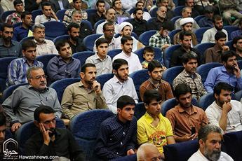 تصاویر/ همایش امام خمینی و انقلاب جهانی حضرت مهدی در مسجدسلیمان