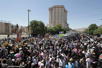 برگزاری راهپیمایی روز قدس در ۳۷ شهر استان بوشهر