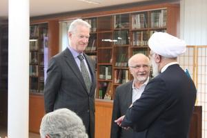 ضیافت شام مشترک مسلمانان و غیرمسلمانان در هامبورگ+ تصاویر