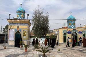 بازدید مسئولان اوقاف قم از مزار شیخان