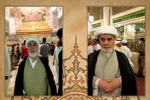 روحانی نابینا که ۵۰ سال در حرم امام حسین(ع) روضه خواند+ عکس
