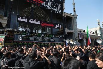 شهر خون و قیام در داغ سالار شهیدان به سوگ نشست